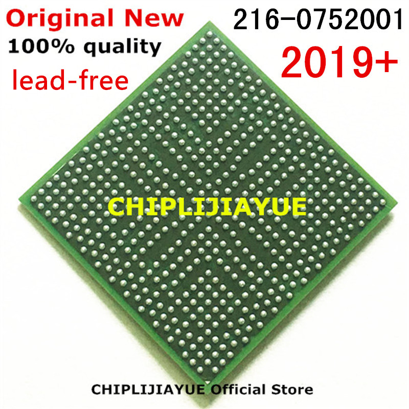 1-10PCS DC2019+ 100% New 216-0752001 216 0752001 lead-free with balls IC chips BGA Chipset