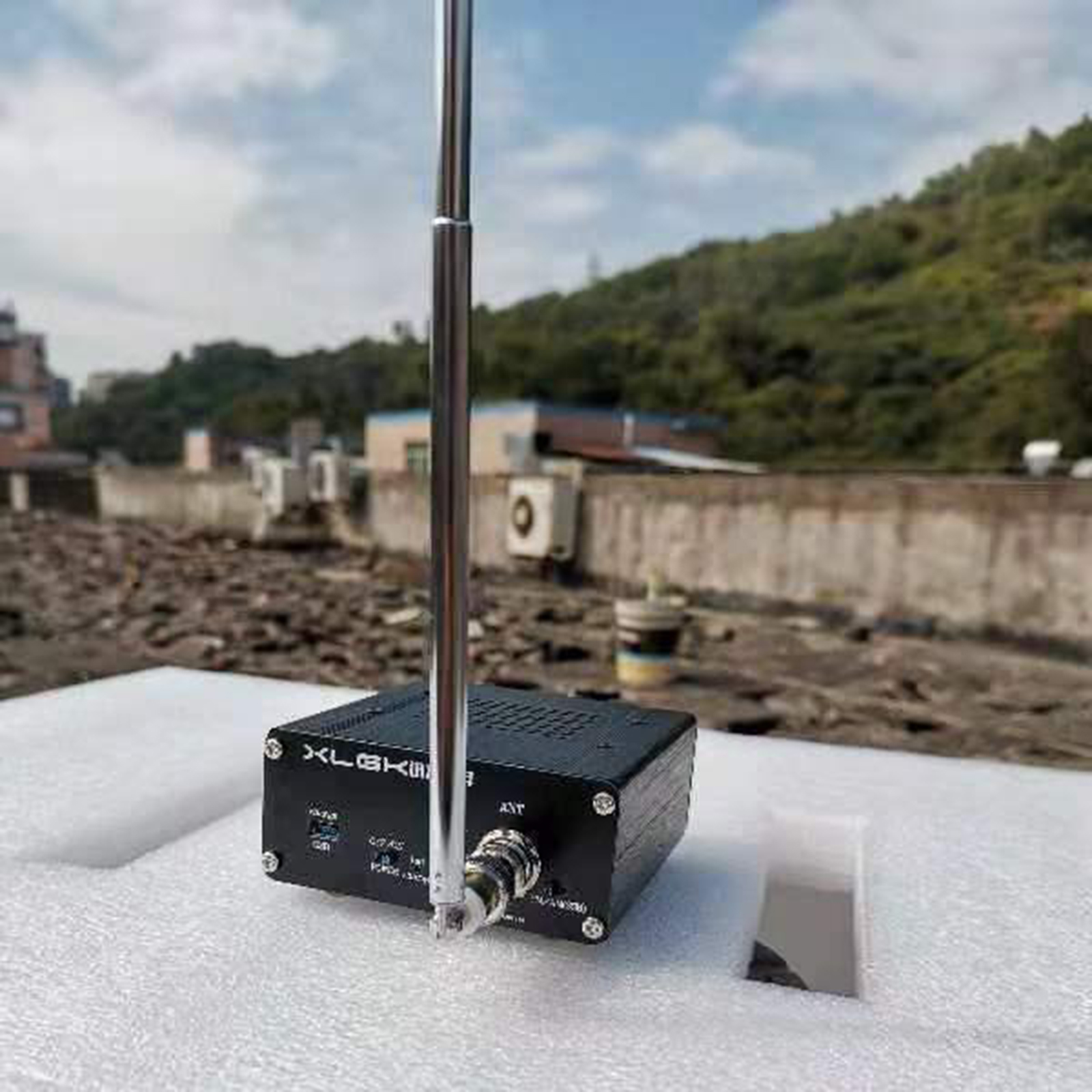 SI4732 FM AM SSB Radio Audio Receiver Finished Type 3.5mm Audio Output BNC Antenna Interface with Audio Bandwidth Filter