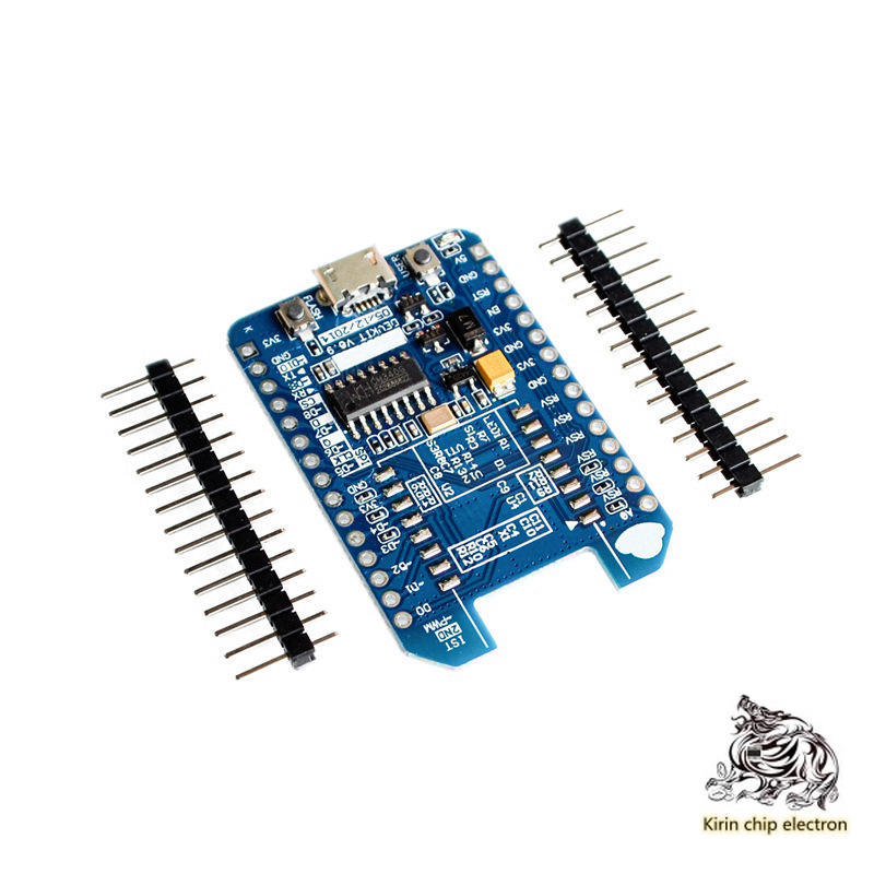 5pcs / Lot Nodemcu Lua WiFi Internet Of Things Blue Development Board Esp826612e / 12F WiFi Module