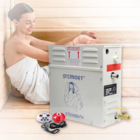 Steam Generator Sauna Steam Bath Machine For Home Sauna Room SPA Shower Fumigation Machine With Digital Controller 4.5KW