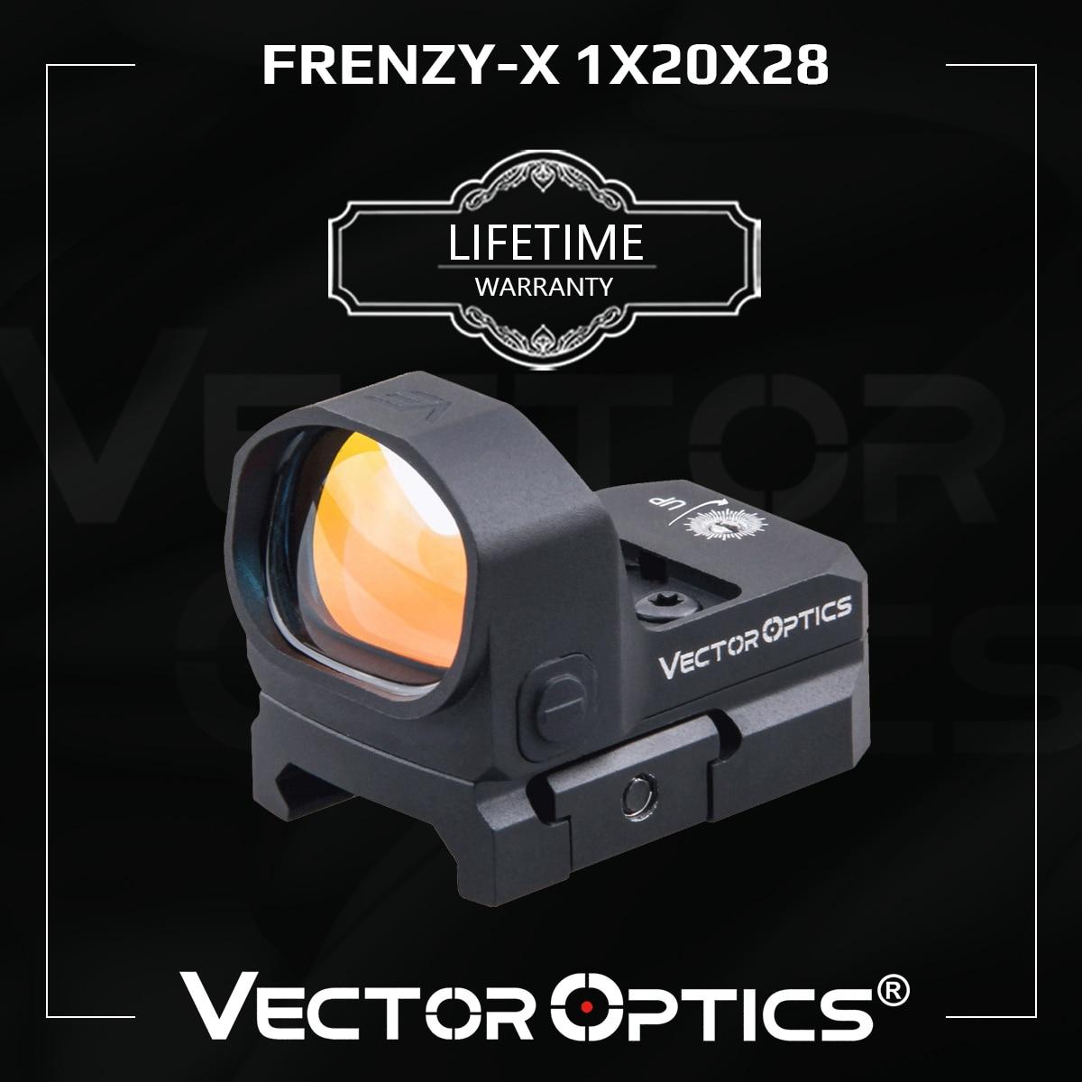 Kit Mirino a Punto Rosso per Pistole Glock VECTOR OPTICS 1x20x28 Red Dot Frenzy