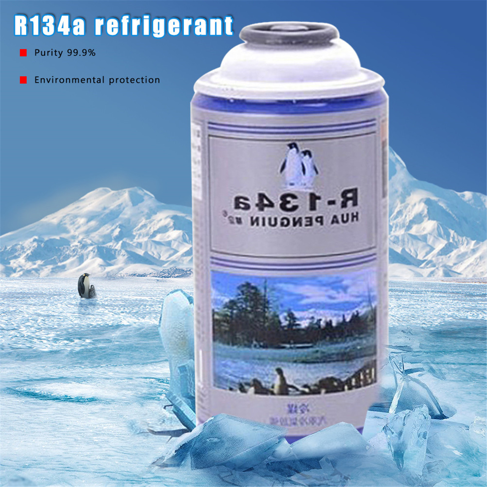 300g Automotive Air Conditioning Refrigerant Cooling Agent R134A Refrigerator Water Filter Replacement Drop Shipping