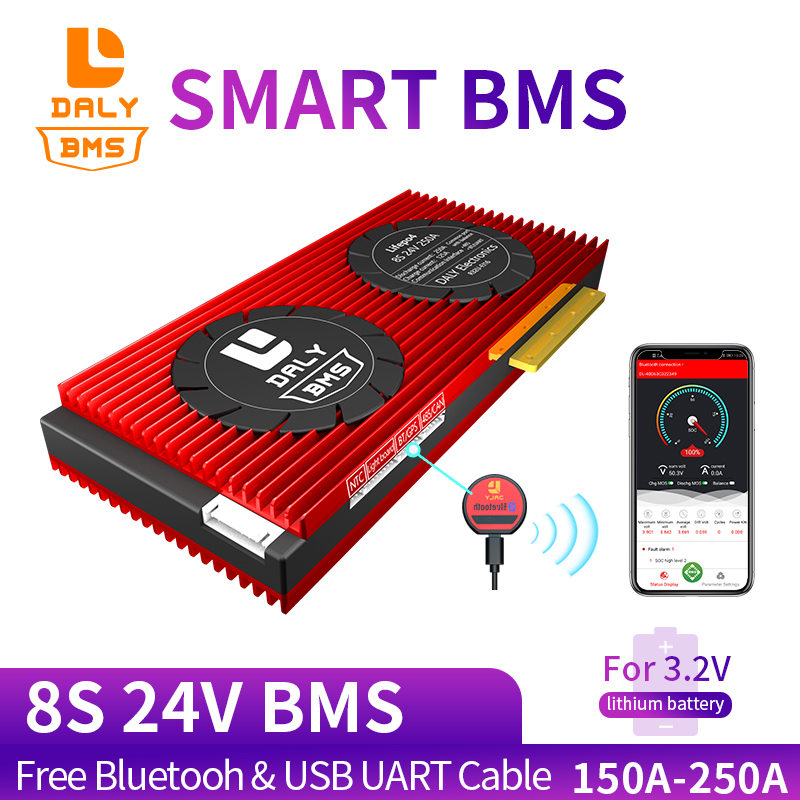 lithium ion battery pack Smart BMS ...