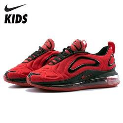 Nike Air Max 720 zapatos para niños recién llegados originales zapatos para correr para niños cómodos deportes Air Cushion Sneakers # AO2924-600
