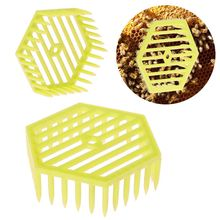 Bee Queen Cage Beekeeping Apiculture Tool Plastic Equipment Hexagonal Supplies