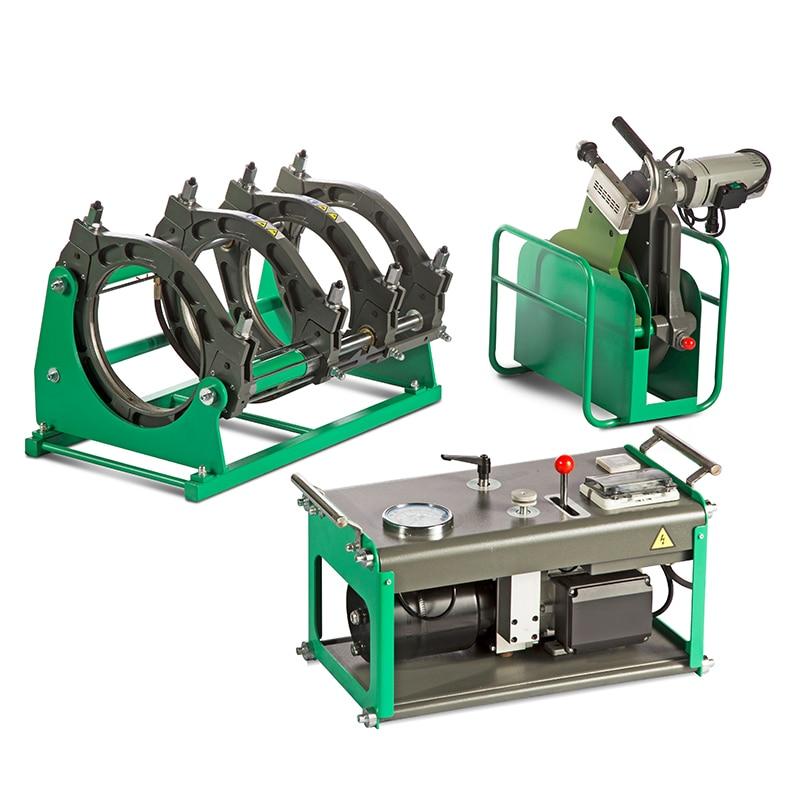 Pp tubulação do pe butt fusion soldador de alta freqüência da máquina bom preço