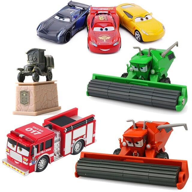 Disney Pixar Cars 3 Saetta McQueen Jackson Tempesta Mater 1:55 Diecast In Metallo In Lega Modello di Auto Giocattolo Auto Regalo Di Natale Per Bambini Ragazzi 6