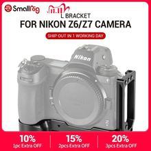 SmallRig Z6 uchwyt kamery L do aparatu Nikon Z6 i aparatu Nikon Z7 w/płyta szybkiego uwalniania typu Arca do pionowego lub poziomego 2258