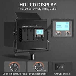 Image 3 - Travor L4500K  Bi color 2set  LED Video Light Kit Prefessional Camera light Dimmable Led light video With Tripod and Bag