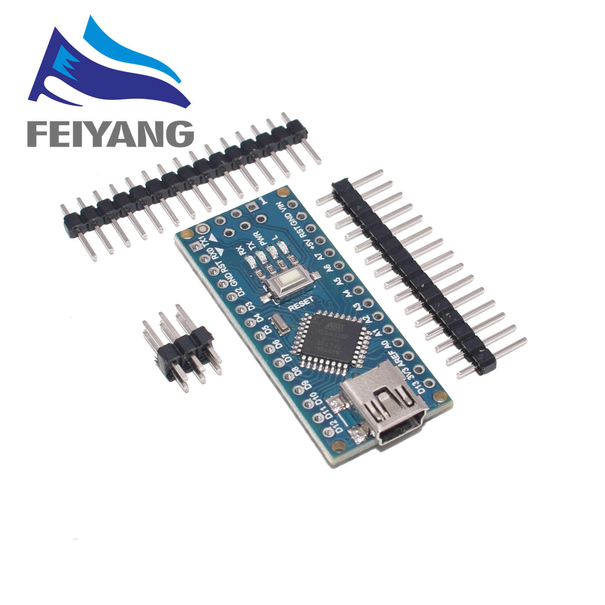 1 قطعة USB صغير مع بوتلودر نانو 3.0 تحكم متوافق ل اردوينو CH340 برنامج تشغيل USB 16 ميجا هرتز نانو V3.0 Atmega328P