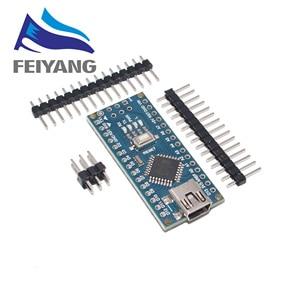 1PCS Promotion For arduino Nano 3.0 Atmega328 Controller Compatible Board Module PCB Development Board without USB V3.0(China)
