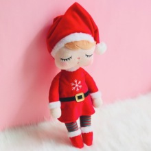 Metoo Plush Toys Angela Christmas Dolls with Box Dreaming Gi
