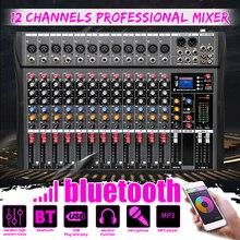 Bluetooth-Sound Microphone-Console Mixer Digital Audio DJ Karaoke Professional Stage