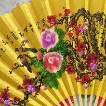 63*110 см украшение дома ремесло подвесной вентилятор для гостиной стены украшения свадьбы