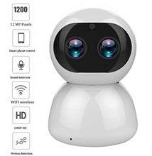 12mp 1080p 8x zoom lente dupla sem fio ptz ip câmera detecção de movimento segurança em casa monitor do bebê