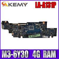 LA-D131P placa-mãe do portátil para lenovo yoga 700-11isk original mainboard 4g-ram M3-6Y30