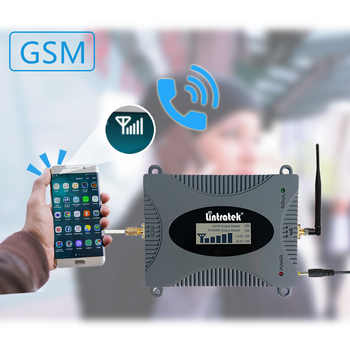 Lintratek GSM Repeater 900MHZ Mobile Signal Booster 900 Mhz Cellphone Signal Booster Ampli 2G Repetidor 65dB Amplifier Full kit