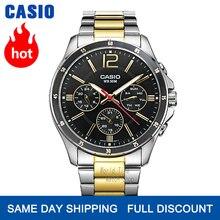 Casio watch men sports waterproof quartz luminous watch MTP-1374SG-1A MTP-1374SG-7A MTP-1374D-2A MTP-1374D-7A MTP-1374L-7A casio mtp 1374d 2a