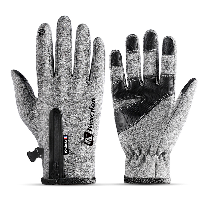3 Colors Winter Men Women Thermal Ski Gloves Thermal Fleece Touch Screen Snowboard Gloves Outdoor Waterproof Snow Skiing Gloves