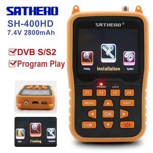 Image 1 - Sathero Orignal SH 400HD DVB S2 HD לווין Finder מטר MPEG 4 דיגיטלי satfinder מטר מלא 1080P טלוויזיה לווין אות finder