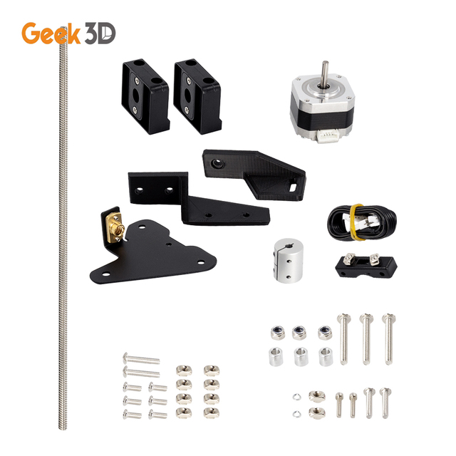 Dual Z Axis Lead Screw Upgrade Kits for Creality CR10 Ender3 Pro 3D Printer Accessories impressora 3d ender 3 pro dual z axis 5