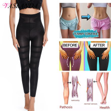 Leggings taille haute pour femmes, pantalon moulant, Anti-Cellulite, amincissant