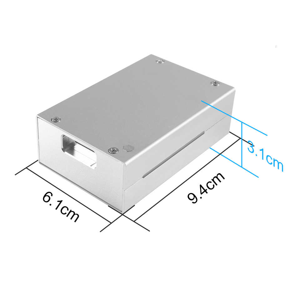Neueste Aluminium fall für Raspberry Pi 4 Modell B