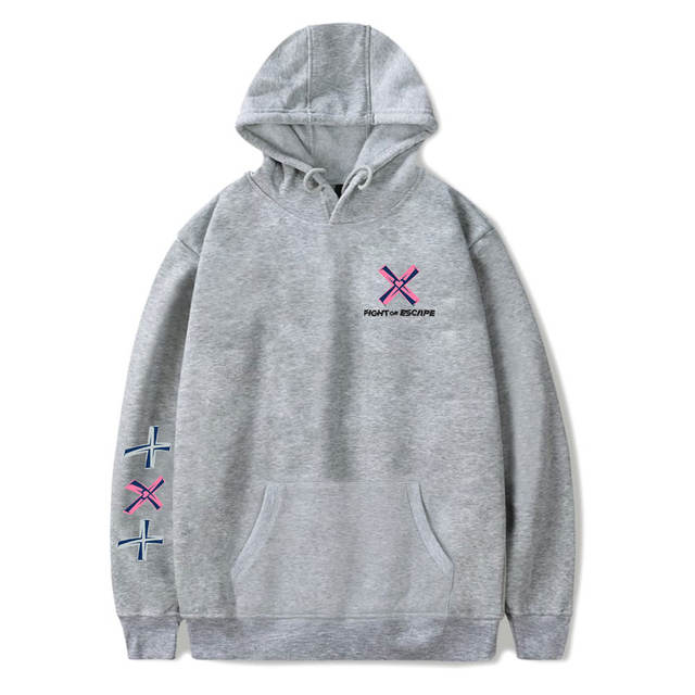 TXT FIGHT OR ESCAPE THEMED HOODIE