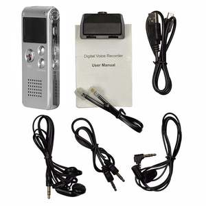 Mp3-Player Dictaphone Voice-Recorder Lcd-Display Audio Digital USB WAV 8G 16G Multifunction