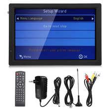 LEADSTAR 14in 1080P HD led TV voiture numérique TV ATV haute sensibilité Tuner Portable TV pour ATSC-T/T2 lcd tv pour la corée