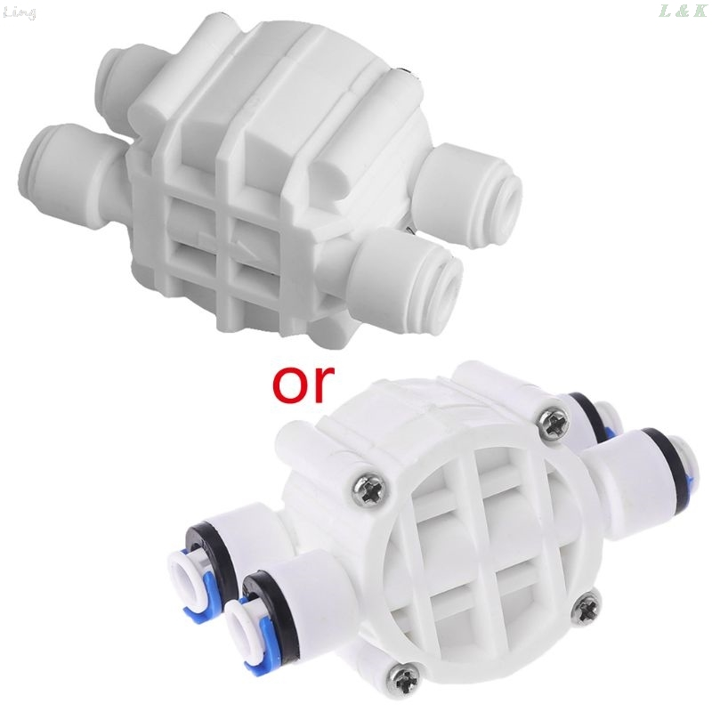 4 Way RO Auto Shut-Off Valve Switch 1/4