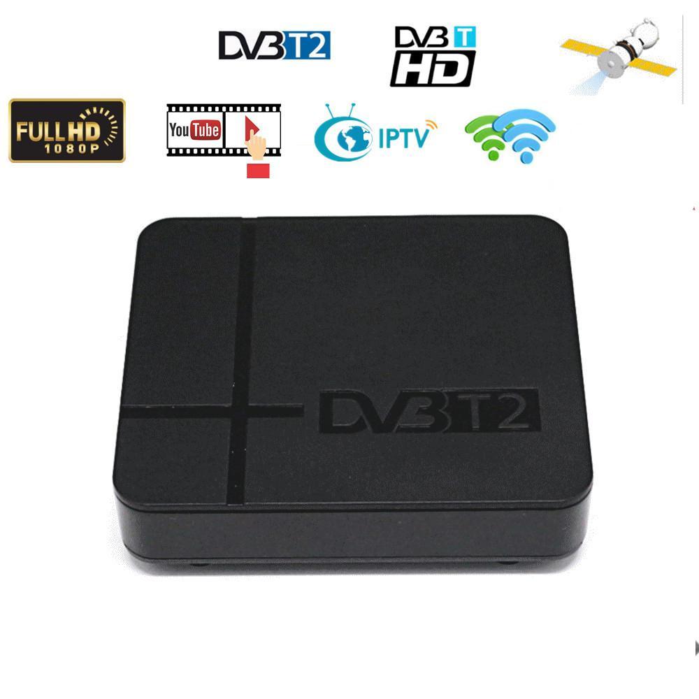 DVB-T2 K2 HD Digital TV Terrestrial Receiver Support Youtube FTA H.264 MPEG-2/4 PVR TV Tuner FULL HD 1080P Set Top Box