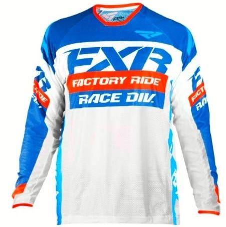 DH Motocross MX FXR Long Sleeve MTB Jersey 2