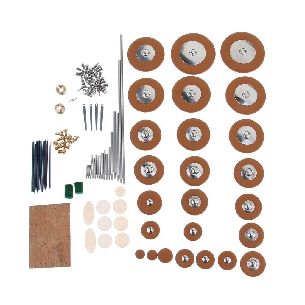 Alto Saxophone Sax Replacement Kit Reeds Screws Pads Wind Instrument Parts