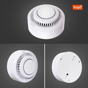 Image 2 - Smart Home Automation Wifi Smart Smoke Detector Tuya Smart Life Fire Alarm Sensor Home Security System