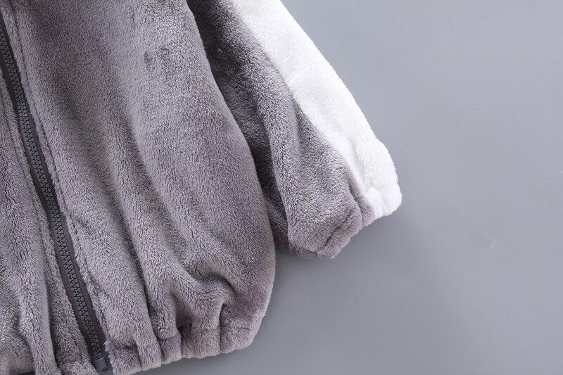 gato recém-nascido grosso quente algodão-acolchoado roupas para