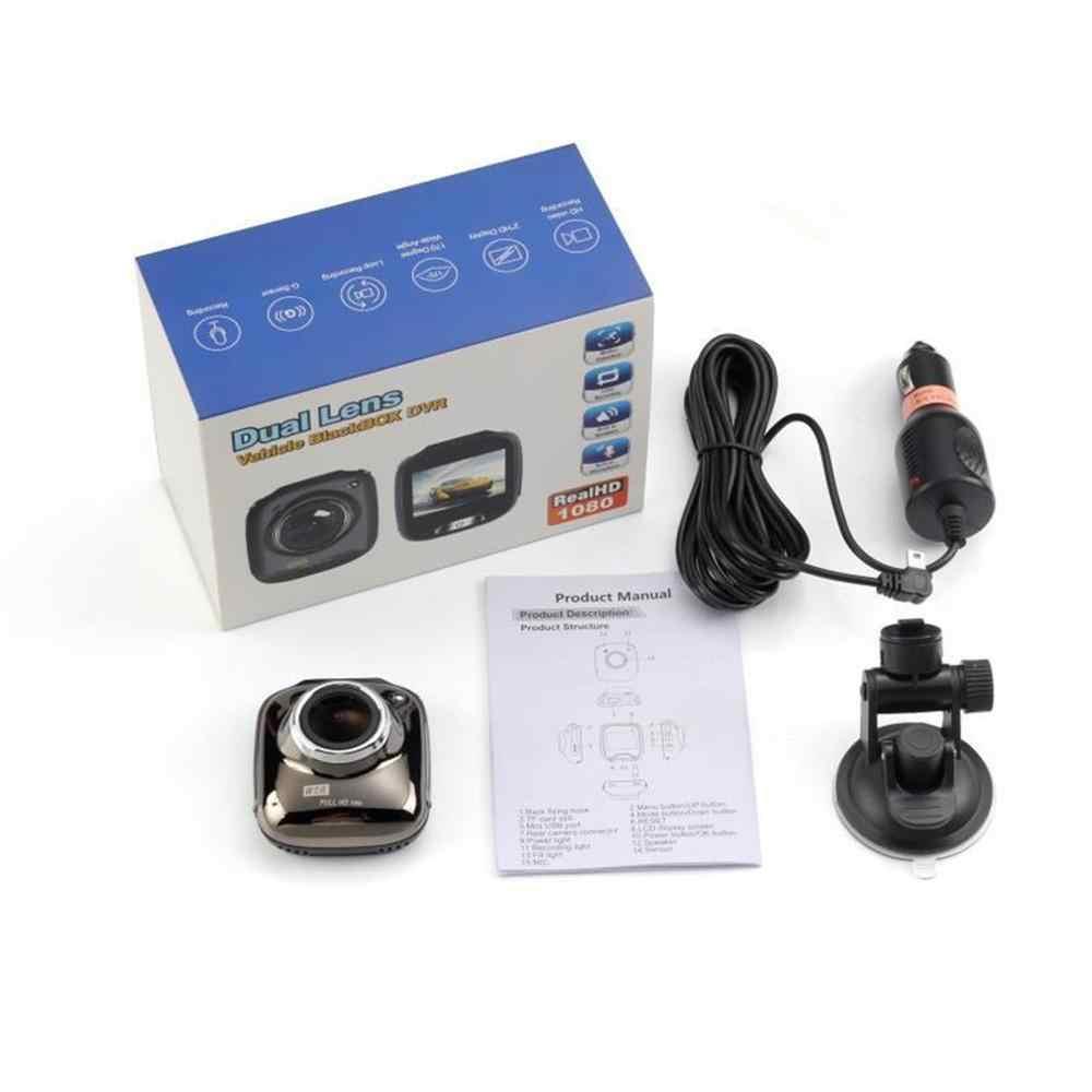 H8 1.5 بوصة المهنية عدسة مزدوجة كامل HD 1080P كاميرا السيارة مزودة بجهاز تسجيل فيديو مركبة فيديو وقوف السيارات مسجل G-الاستشعار كاميرا سباق بالرؤية الليلية