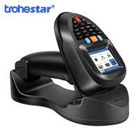 Trohestar Barcode Scanner Wireless Handheld Portable Data Collector Terminal Inventory Device 2.4GHz Bar Code Reader Scanners