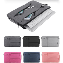 Laptop Bag For Macbook Air Pro Retina 11.6 13.3 15.6 inch Sleeve Case PC Tablet Cover ipad bag tablet large