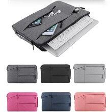 цена на Laptop Bag For Macbook Air Pro Retina 11.6 13.3 15.6 inch Laptop Sleeve Case PC Tablet Case Cover ipad bag tablet bag large