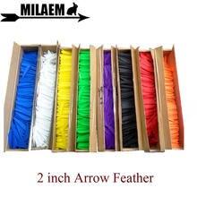 200 шт 2 дюймовые стрелы для стрельбы из лука резиновые перья