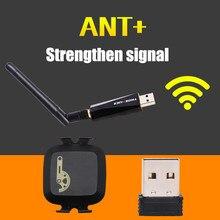 THINKRIDER ANT + USB gelişmiş verici alıcı uyumlu Garmin bisiklet bilgisayar ANT sopa hız ritim sensörü