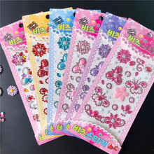 Acrylic Gemstone Drill Stickers Childrens Toys Mobile Phone Accessories Manual DIY Rhinestone Women Nails Adhesive