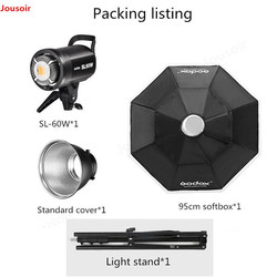 Goodx SL60w photography lamp Set continuous lights LED soft light video anchor small light lamp live studio Lamp CD50 T03
