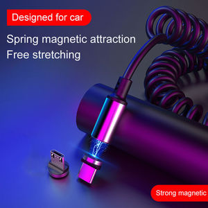 3A Magnetic Spring Cable Quick