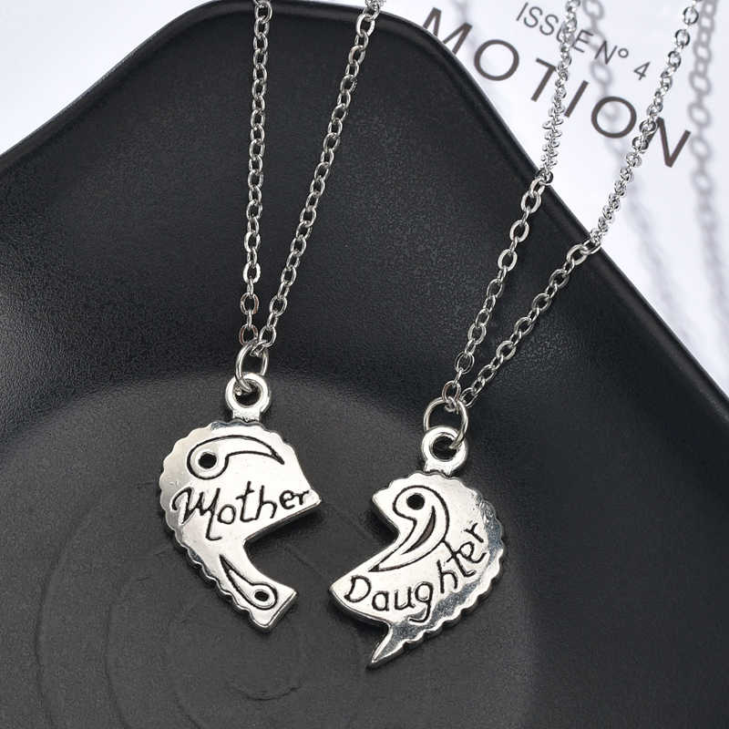 Simple Heart Lock Key Couple Pendant Necklace For Women Men Choker Silver Girls Anniversary Necklace Jewelry Gifts Accessories