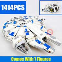 New Force Awakens Fighter Fit Legoings Star Wars Fighter Figures Falcon Building Blocks Bricks Gift Kid Toys for Children