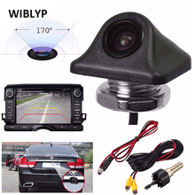 цена на Reverse Camera HD 170 Degrees Wide Angle Night Vision CCD Car Parking Front Side Rear View Backup Camera Waterproof Universal