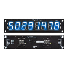 0.56 pouce 8 bits Module de Tube numérique 74HC595 8 chiffres 7 Segments LED Module d'affichage bleu 3 broches e/s numérique 5V pour Arduino Diymore