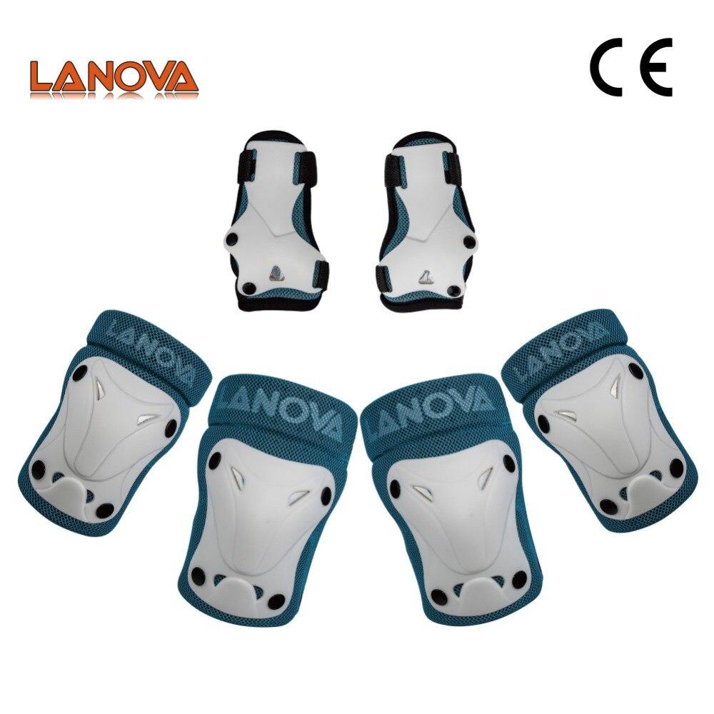 Equipo de protección para niños 6 piezas para patinaje sobre hielo multideportes patines bicicleta de ciclismo ajustable cómodo